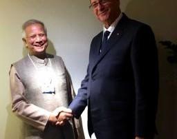 突尼西亞首長與尤努斯博士