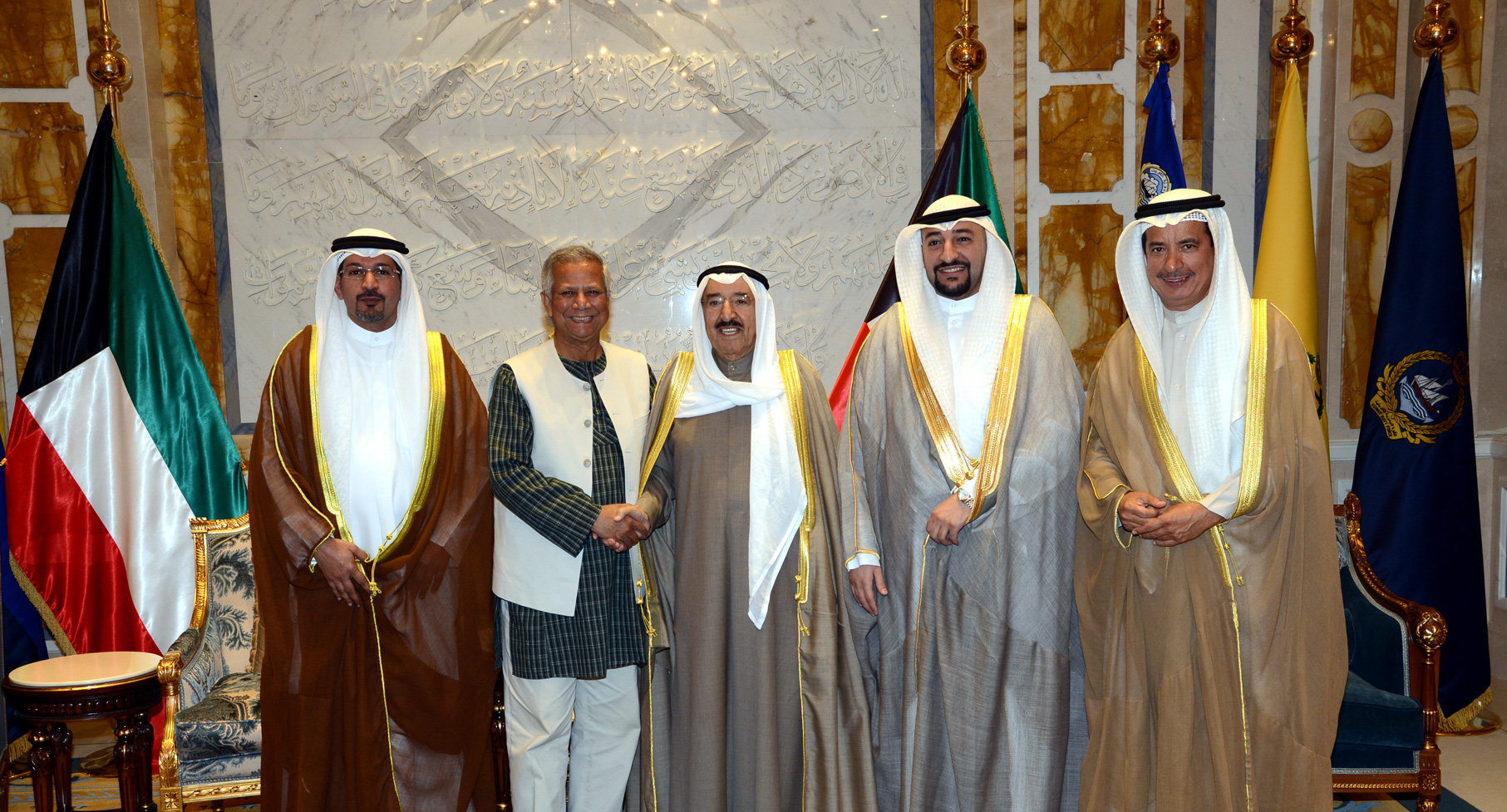 尤努斯教授與科威特阿米爾會面