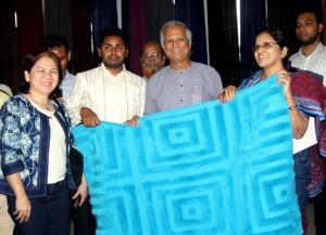 新興企業家的手工地毯