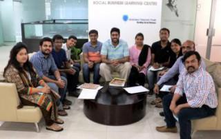 為印度實習生介紹格來珉電信信託的活動