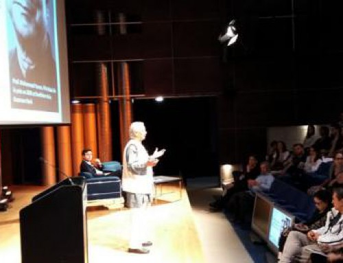 尤努斯教授為加拿大企業領導會議致詞