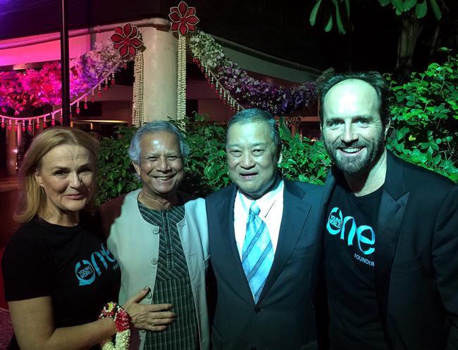 尤努斯博士於曼谷高峰會