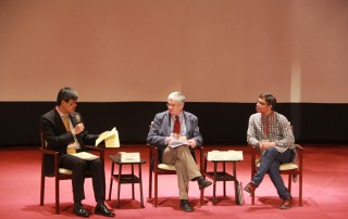 綜合座談,由葉錦徽博士、Rob John博士及Ashir Ahmed博士針對社會企業之趨勢及影響進行意見對談與經驗分享
