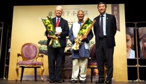 尤努斯博士與香港大學副校長